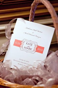 Cute invitation for an autumn wedding.  Photo by Sincerely, Liz: Photography.