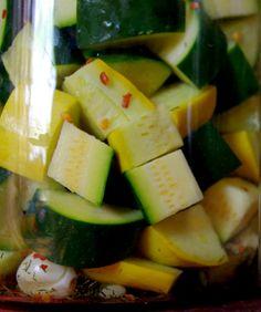 Lacto-fermented pickles