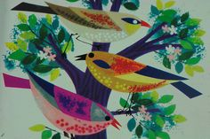 1950s biscuit tin (detail) by H is for Home, via Flickr