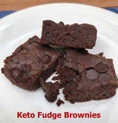 Keto Fudge Brownies - Cookie Madness