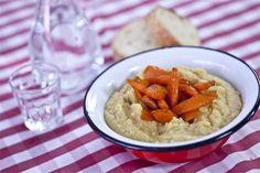 Φάβα Φενεού με καραμελωμένα καρότα Risotto, Cooking Recipes, Ethnic Recipes, Easy, Food, Cooker Recipes, Chef Recipes, Meals, Yemek