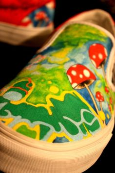 Custom Shoes by BearGallery on Etsy