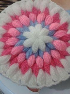 Crochet Mat, Crochet Doily Diagram, Crochet Mandala, Crochet Doilies, Crochet Puff Flower, Crochet Flowers, Loom Board, Woolen Craft, Mirror Work