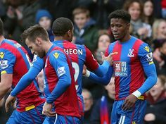 A selection of images from the Crystal Palace FC FA Cup 4th round victory against Stoke City.