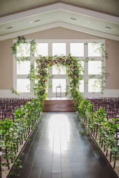 So lush, so green, so wow. | Photographer: Shawn Marie Photography | Planner: Grit + Gold | #bridesofnorthtx #weddings #altar