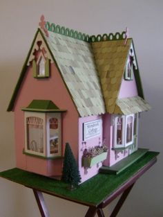 The Storybook Cottage 03 - The Storybook Cottage Dollhouse - Gallery - The Greenleaf Miniature Community