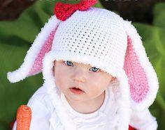 Crochet Panda Bear Hat Pattern PDF FILEFurry or by BriAbbyHMA