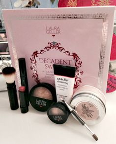 Laura Geller Decadent Sweets Collection available through QVCUK.