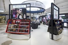 Home - Retail Focus Cosmetic Shop, Cosmetic Design, Display Design, Store Design, Makeup Display, Makeup Holder, Makeup Store, Store Interiors, Beauty Boutique