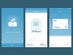 Try to explore new ui/ux for simple wallet app with @Ghani Pradita signature style. comment or feedback is really appreciated