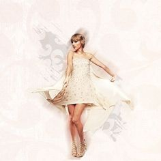 Spinning like a girl in a brand new dress.