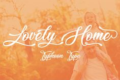 Lovely Home Font is free script font. It was designed by Typhoon Type - Suthi Srisopha. You can use this font for personal purpose.