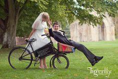 vintage wedding bicycle and photographic prop