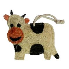 Zero Waste Cow Loofah Scrubber - This compostable scrubber is the perfect alternative to the kitchen sponge!