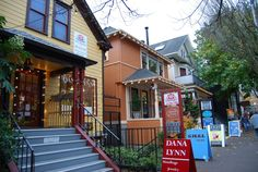 Search Nob Hill OR Real Estate For Sale - All RMLS listings with large photos, updated daily and save favorite searches with one easy to use site. View all Nob Hill homes and condos in NW Portland. Shopping In Portland Oregon, Moving To Portland, Portland Real Estate, Portland Street, Travel Portland, Visit Portland, Portland Neighborhoods, Cute House, Oregon Travel