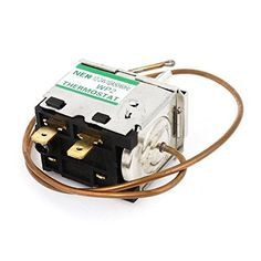 D Shaped Shaft Temperature Control Thermostat DC 12-24V 10A, Model: a14102100ux0083, Car & Vehicle Accessories / Parts. Country of Manufacture: CHINA; Material: Metal, Plastic; Net Weight: 76g. Package Content: 1 x Car Thermostat; Model: WP2; Main Color: Silver Tone, Brass Tone. Voltage Rating: DC 12-24V 10A; Terminals: 2. Size(Approx.): 66 x 28 x 41mm/ 2.5 x 1.1 x 1.6inches (L*W*T); Shaft Thread Diameter: 10mm/ 0.4inches. Cord Length(Approx.): 43cm/ 17inches; Product Name: Car Thermostat.
