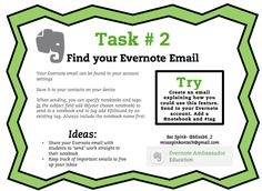 Emailing Evernote (and have it automatically filed!)
