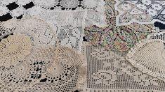 Crochet Table Runner, Crochet Tablecloth, Round Tablecloth, Crochet Doilies, Shades Of Beige, Vintage Tablecloths, Alpaca Wool, Cotton Thread, Table Runners