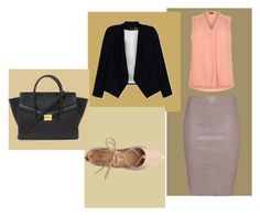 """""""Coração Perdido C.2"""" by raissagoulart ❤ liked on Polyvore featuring Jitrois, New Look, Alice + Olivia and Forever 21"""
