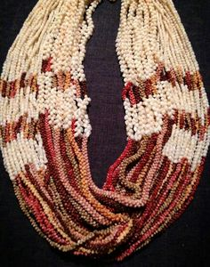 Lei pūpū o Ni'ihau, Ni'ihau Shell Designs, posted to Facebook by Kuana Torres Kahele.