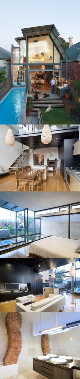 Not a tiny house, but definitely beautifully designed with dreamy windows.  Brammy/Kyprianou Residence