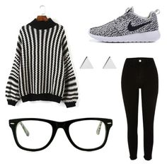 """""""Untitled #2"""" by lilly-sperring on Polyvore featuring Muse, River Island and Jennifer Meyer Jewelry"""