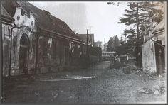 vlevo Kittelovi a naproti Kožmínovi (vchod do parku z hlavní ulice)