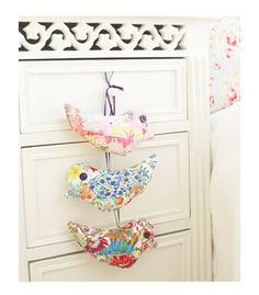 PP Scented fabric birds to sew - Keep your clothes in good condition: craft projects for your wardrobe - Craft - allaboutyou.com