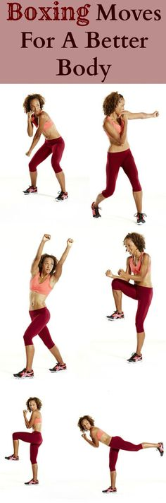 Give unwanted inches the old one-two with these boxing-inspired moves. #boxing #fitness | Health.com
