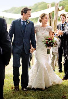 Seth Meyers married Alexi Ashe at a gorgeous wedding in Martha's Vineyard.