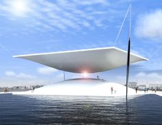 1st Place Winner for LAGI 2014: The Solar Hourglass by Santiago Muros Cortés