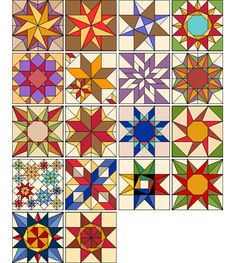 Exquisite Stars by Judy Martin for EQ7