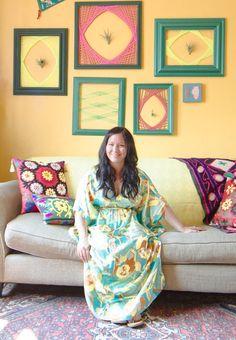 BEST HOUSE EVER! Amy's Vintage Jewel Tone Apartment — House Tour