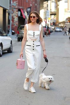 Olivia Palermo's Lingerie Jumpsuit May Be the 1 Summer Look You Still Need to Try