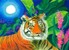 Tiger Tiger Burning Bright - Heni Sandoval