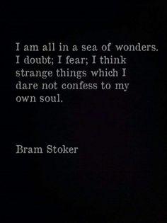 "Bram Stoker "" Dracula "" quote"