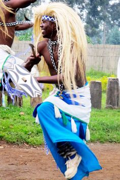 Traditional dancer - Rwanda