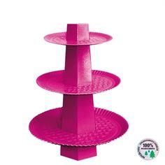 Baleiro Descartável Pink 3 Andares http://www.tozaki.com.br/produto/6032/baleiro+descartavel+pink+3+andares+01un+-+ultrafest
