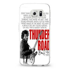 Bruce Springsteen Born To Run Quote samsung galaxy S3,S4,S5,S6 cases