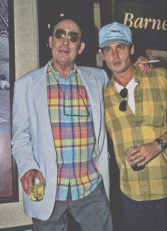 Johnny Depp and Hunter S. Thompson