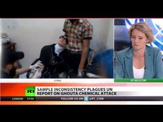 UN-BELIEVABLE: CREDIBILITY OF UN REPORT ON GHOUTA CHEMICAL ATTACK QUESTIONED. Experts from the world's chemical weapons watchdog say they're making encouraging progress towards dismantling Syria's stockpiles. A UN report earlier concluded that nerve gas had been used on a large scale in August, but the consistency of the findings are under question.