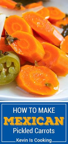 These Authentic Mexican Pickled Carrots a great make-it-at-home version that are just like the ones you get at Mexican restaurants and so easy to make!