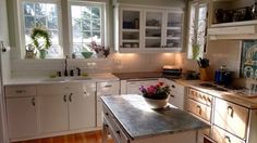 Think Zinc for Kitchen Counter Tops