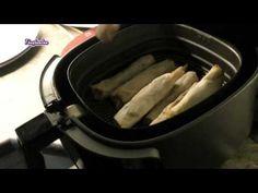 Zonder Olie Loempia Bakken _ Mini loempia,s bakken in airfryer.