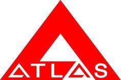 Atlas Crankshaft Corporation (1964) logo by Paul Rand. Pinned by Awake — http://designedbyawake.com #logo #branding #identity #design