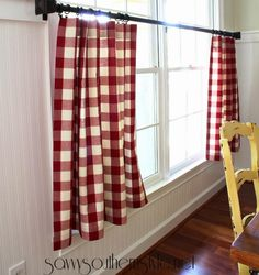 9 DIY Tutorials How To Make NO SEW Curtains