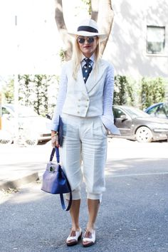the2waystreet:  Milan Fashion Week - June 2013Model: Sarah Ann Murray