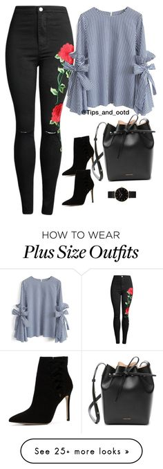 """Ootd"" by mamzelleyaa-05 on Polyvore featuring Chicwish, ALDO, Mansur Gavriel and CLUSE"