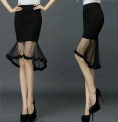 Dance bell skirt