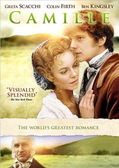 Colin Firth and Greta Scacchi in Camille (1984)